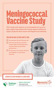 Meningococcal Vaccine Study