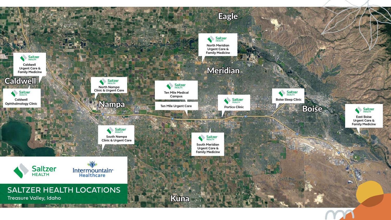 Saltzer Health Locations