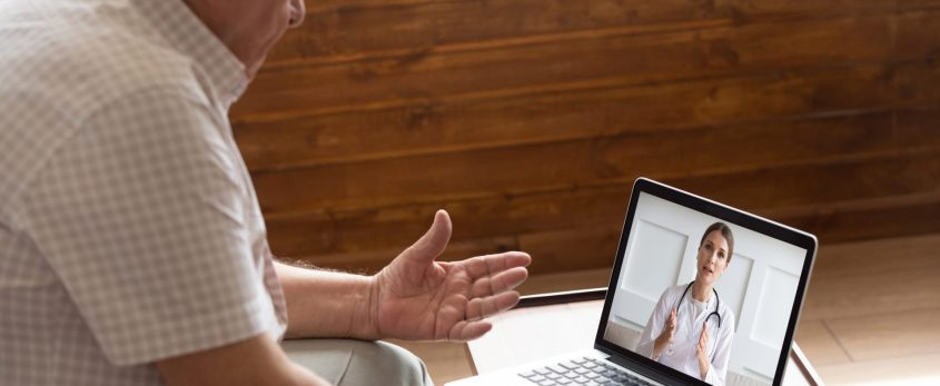Skip the waiting room! Patients can visit with their doctor via telehealth