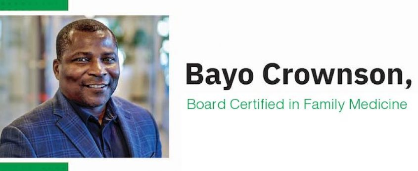 Longtime Canyon County physician Bayo Crownson, MD, joins Saltzer Health