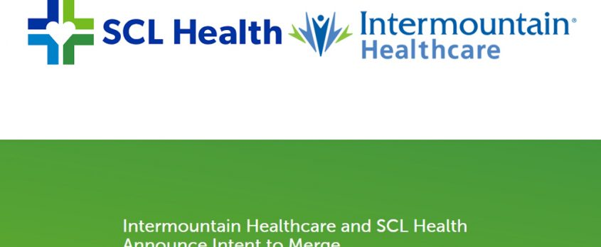 Intermountain Healthcare and SCL Health Announce Intent to Merge