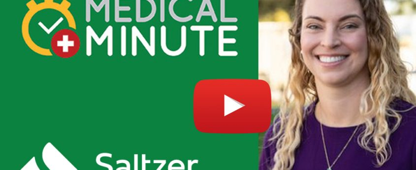 The importance of a nurse midwife. Medical Minute interview with Saltzer Health's nurse-midwife Erin Felt, CNM